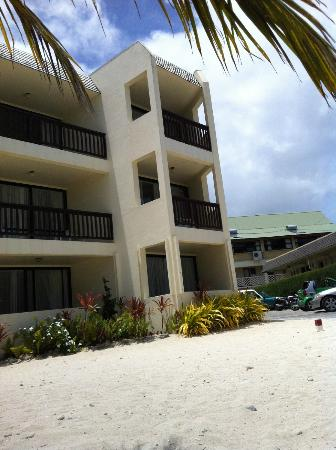 The Edgewater Resort & Spa: The balcony or the Ocean  View Rooms