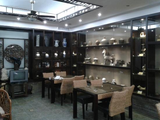Aroma Tea House: le musée ou la salle du petit déjeuner