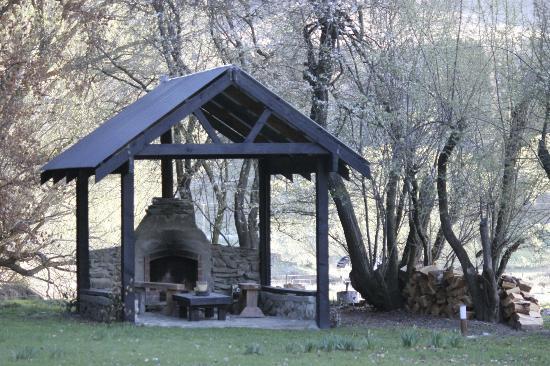 Waiorau Homestead: Fireplace