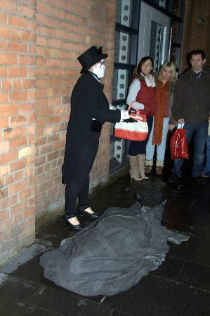 Ghost Walk Belfast: A body?