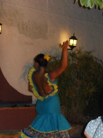 Santiago's Restaurant: flamenco
