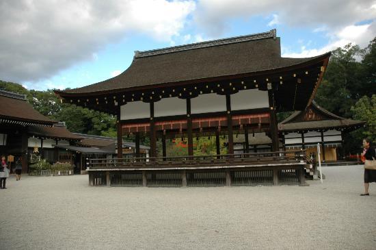 Shimogamo Jinja: Bu-den structure.