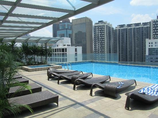 View From The Pool Area Picture Of Fraser Place Kuala