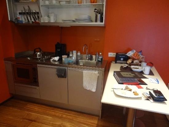 Prinsenhuis: Fully equipped kitchen