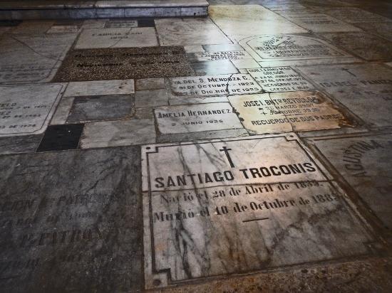 Templo de Santo Domingo : floor tiles