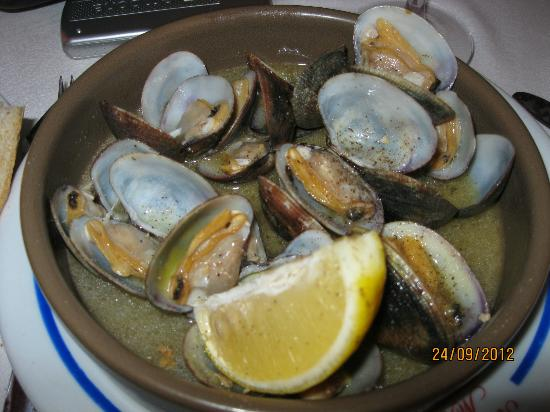 Restaurante Mena: almejas