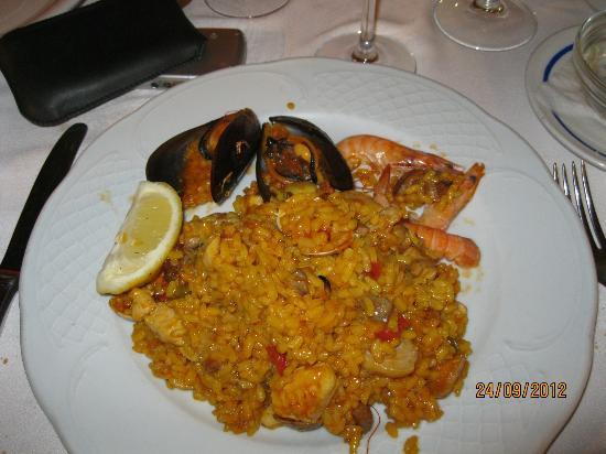 Restaurante Mena: paëlla... heerlijk !