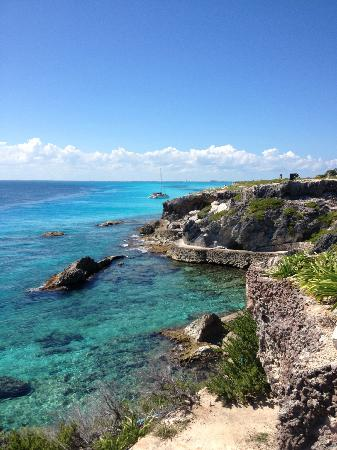 Casa Sirena Hotel : A view on Isla Mujeres