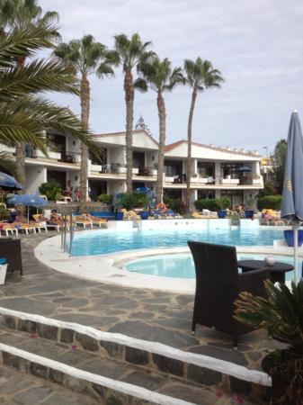 Sunsuites Carolina: poolområdet