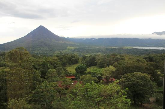 Arenal Lodge: view