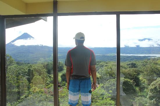 Arenal Lodge: view chalet