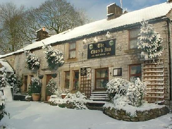 Winter at The Church Inn