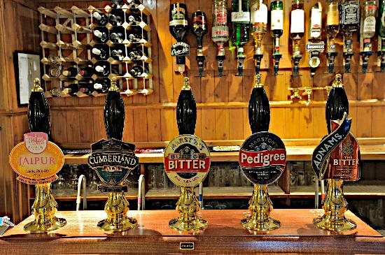 The Church Inn: A selection of real ales