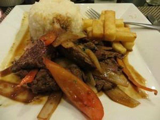 asia lima: Stir fried beef