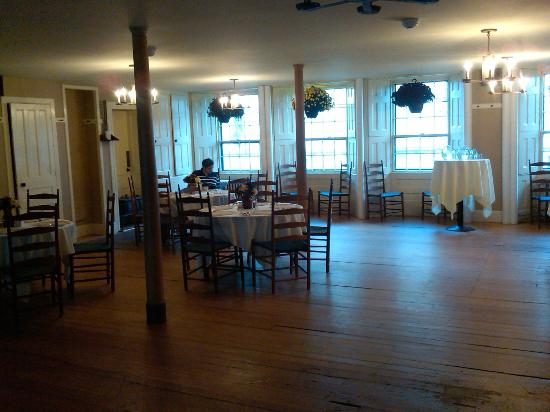 The Dining Room at Enfield Shaker Museum