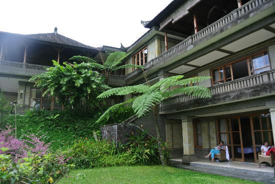 Villa Wastra: une des ailes de la maison