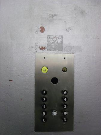 Mercure Ayr Hotel: Service lift