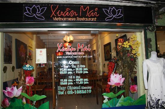 Xuan Mai Restaurant: Часы работы. И главное-часы неработы