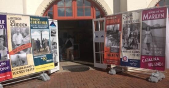 Catalina Island Museum : Museum entrance