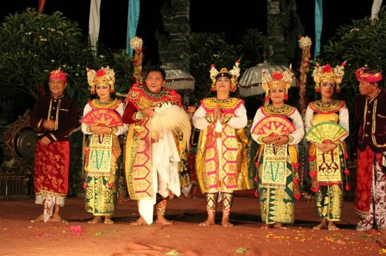 Masters of Bali: The cast