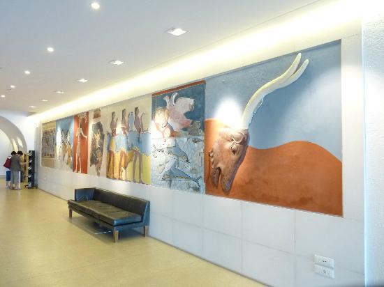 Hermes Hotel : Déco du hall