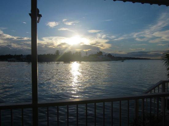 Bocas Paradise Hotel: View from Restaurant