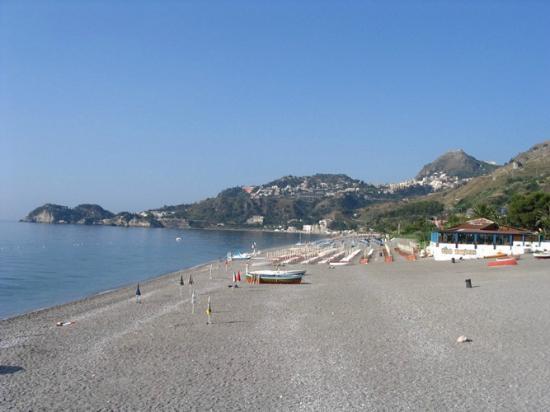 Taormina, Italy: Spiaggia d Mazzeo