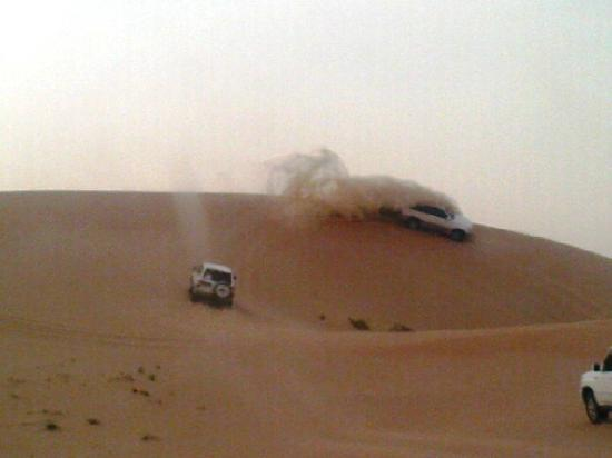 Emirates Tours and Safaris Day Tours: Drive through the desert along - Dune Bashing