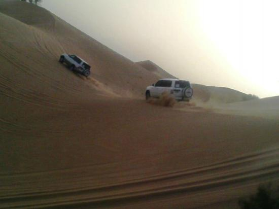 Emirates Tours and Safaris Day Tours: Pick up by 4x4 wheel Drive
