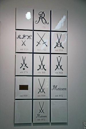 you might recognize the logo billede af meissen