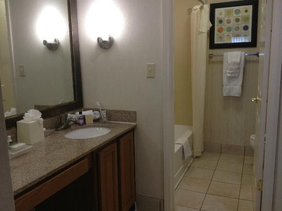 هوموود سويتس ممفيس إيست: Bathroom 