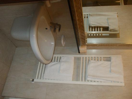 Hotel Del Corso : baño