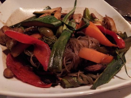 Interludio: Vegetable stir fry