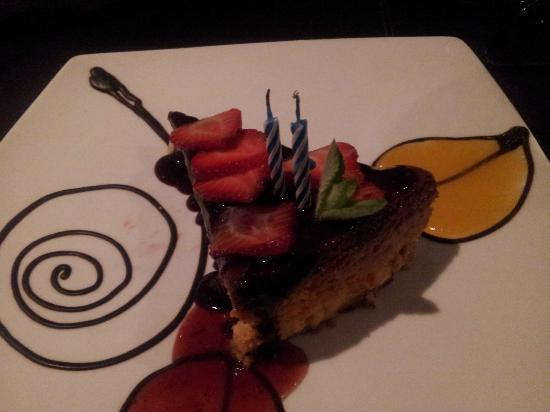 Interludio: Mango cheesecake