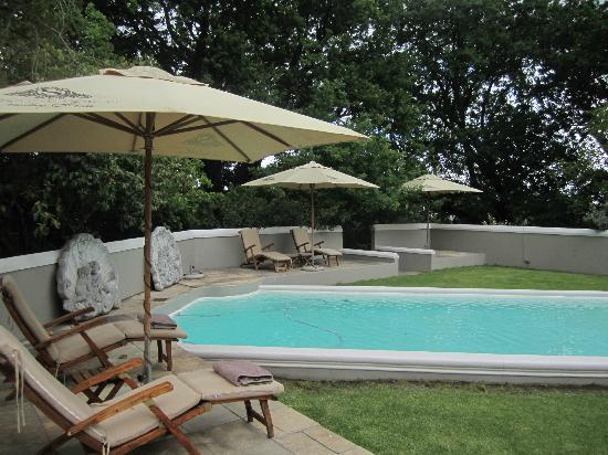 Schoone Oordt Country House: Pool area