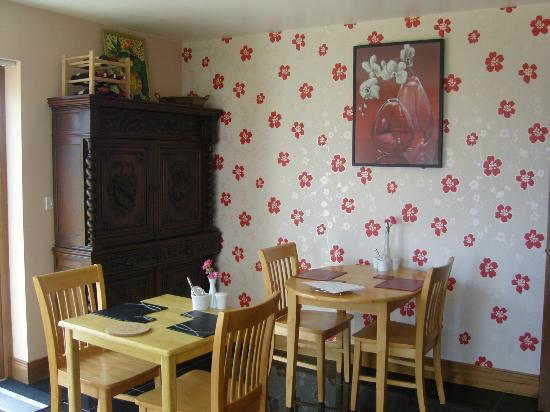 Rossroe Lodge B&B: Dining room