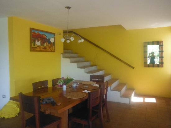 Bahia del Sol Villas & Condominiums: Dining Area / Stairs to Bedrooms