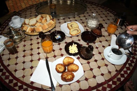 Ryad Zahraa: Breakfast, Riad Zahraa