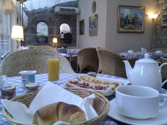 Hotel Le K'Loys : Salle du petit déjeuner