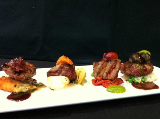 Arnold Palmer's Restaurant: Filet Mignon Flight