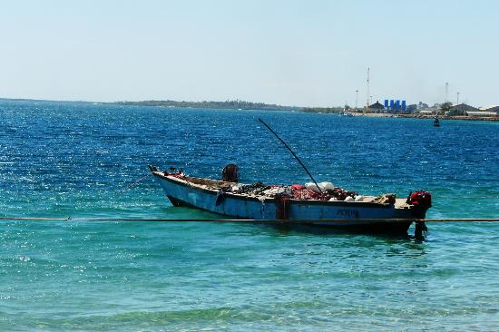 Mtwara Region, Tansania: рыбный рынок в мтваре