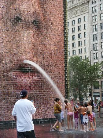 ‪Crown Fountain‬
