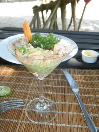 Club Villa Restaurant: A crab cocktail