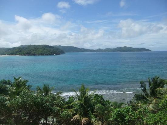 Bay View Villa: vue de la chambre