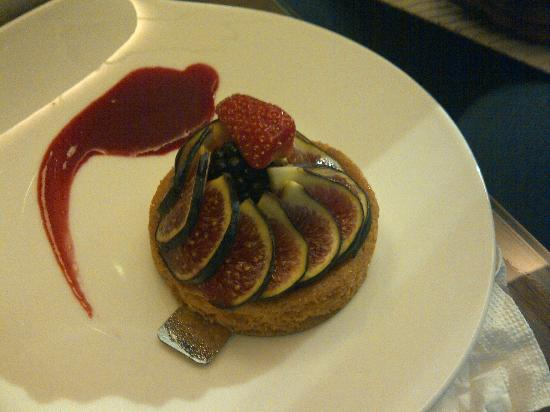 ‪‪Grand Hotel Kempinski Geneva‬: Fig Tart‬