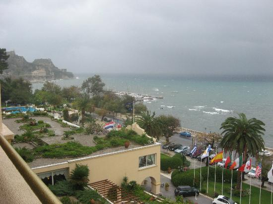 Corfu Palace Hotel: View from room