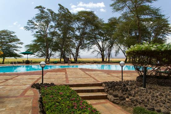 Ol Tukai Lodge: The excellent pool area