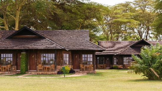 Ol Tukai Lodge: Exterior view of some of the lodges