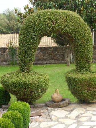 Casa Reboiro: Tuin van het hotel 