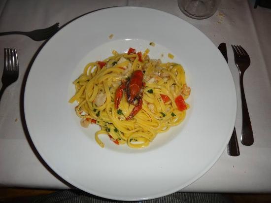 Osteria dei Pescatori: An amazing main course!